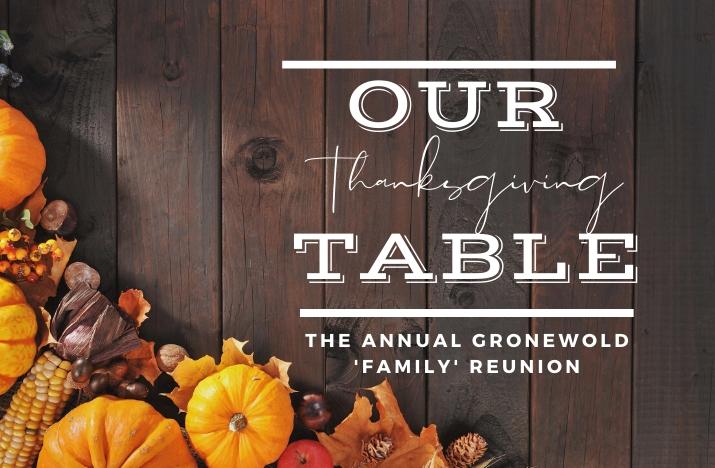 Thanksgiving After Houseparent