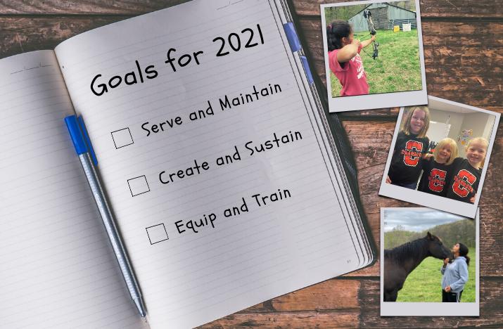 goals, journal, checklist