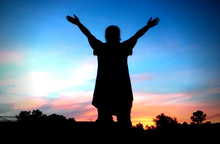 living hope, sunset